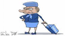 Karikatur Sergey Elkin Nawalny