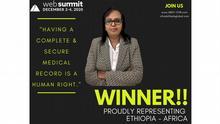 Äthiopien Wuleta Lemma 2020 Web-summit Award Winner
