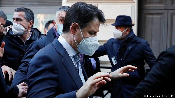 Italien Rom |Giuseppe Conte, Ministerpräsident