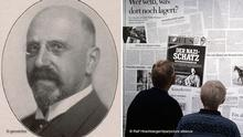 Bildkombo Henri Hinrichsen & Ausstellung Bestandsaufnahme Gurlitt