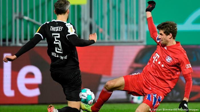 DFB-Pokal | 2. Runde |Holstein Kiel vs. FC Bayern München