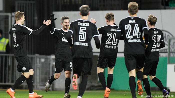 DFB-Pokal | 2. Runde |Holstein Kiel vs. FC Bayern München | TOR Kiel