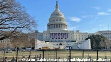 USA Washington Repräsentantenhaus - Beratung Impeachment