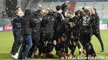 Kiel celebrate an historic victory