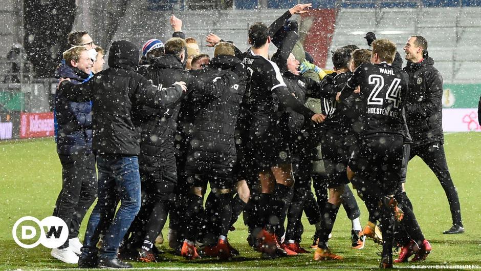 Kiel wirft Bayern aus dem DFB-Pokal