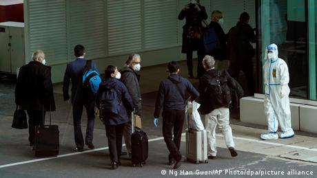 China Coronavirus WHO Flughafen Wuhan