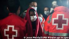 Spanien Malaga Flüchtlinge Marokko