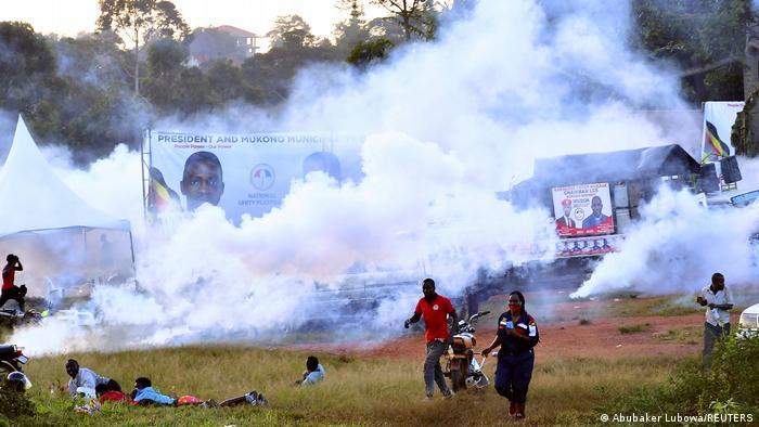 Uganda l Unruhen im November während der Kampagne von Kyagulanyi
