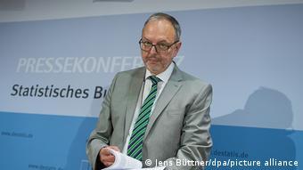 Руководитель Федерального статистического ведомства ФРГ Георг Тиль