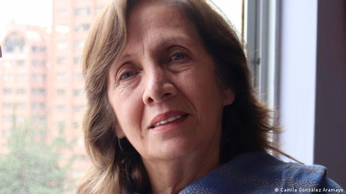 Helen Álvarez, periodista de Radio Deseo.