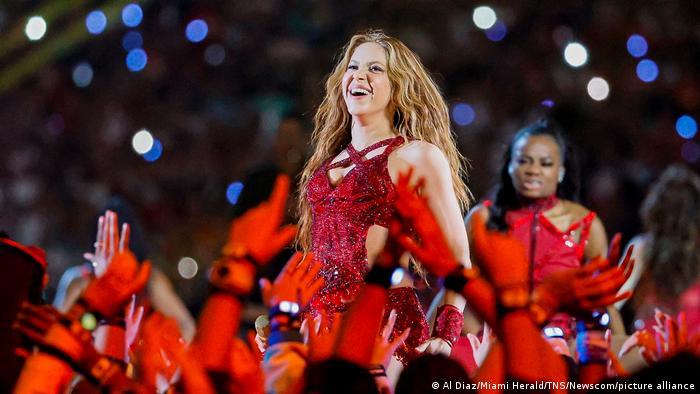 Shakira, en su actuación durante el Super Bowl en Miami. (2 de febrero de 2020).