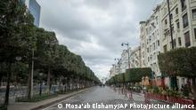 Tunesien Tunis | 10. Jahrestag der Revolution |Lockdown