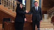 Kosovo Wahlkampagne Albin Kurti & Vjosa Osmani, Präsident