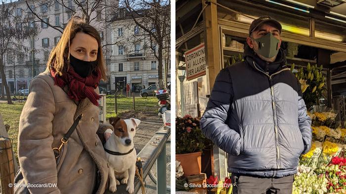 Prolaznica Marija Antonita i prodavac cveća Klaudio su ogorčeni Rencijevim potezima