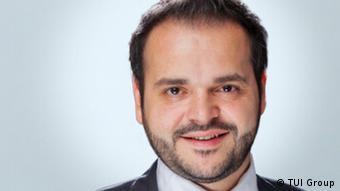 Ο Έλληνας εκπρόσωπος της TUI Βαγγέλης Γεωργίου