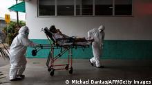 Brasilien I Coronavirus I Agosto Krankenhaus in Manaus