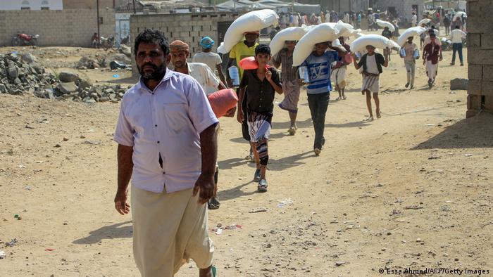 مردم یمن به کمکهای نهادهای بینالمللی نیازمندند