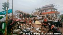 Indonesien I Erdbeben in Mamuju, West Sulawesi