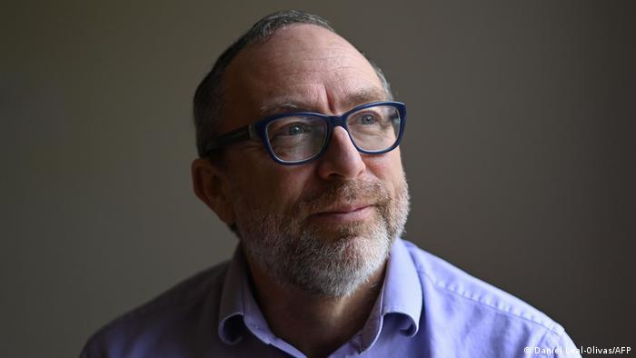 Jimmy Wales Gründer von Wikipedia