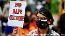 Bangladesch Aktivistinnen Protest Frauen Vergewaltigung
