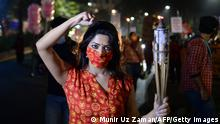 Bangladesch Protest Vergwaltigungsopfer