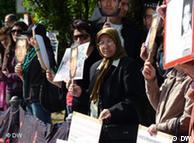 تجمع ایرانیان در مقابل دفتر سازمان ملل در بن (پنجشنبه ۲۷ مه ۲۰۱۰)