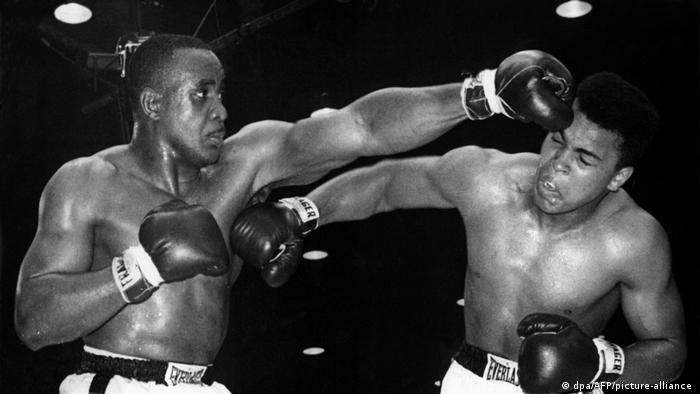 USA Boxen Cassius Clay vs Charles Sonny Liston