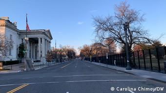 Washington - un oraş în stare de alertă