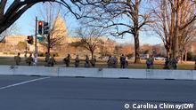Sicherheitsvorkehrungen vor dem US-Kapitol (Archiv)
