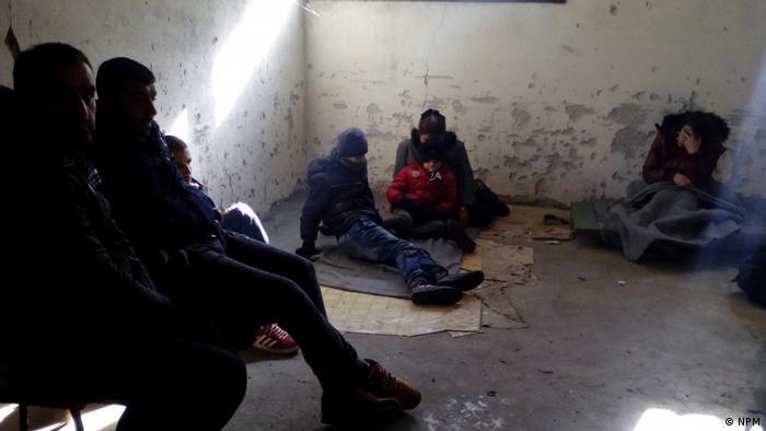 Rundown cell at police station in Gradina