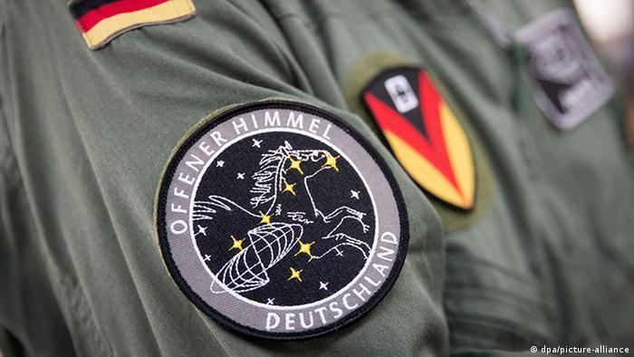 Deutschland I Abzeichen Open Skies Abkommen