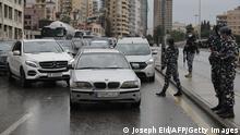 Libanon Coronavirus Lockdown
