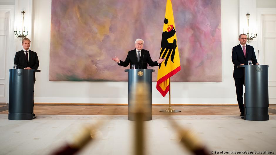 Deutschland Coronavirus Steinmeier Appell Homeoffice
