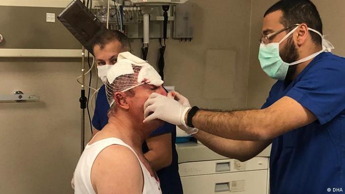 Selcuk Özdag erleidet schwere Verletzungen