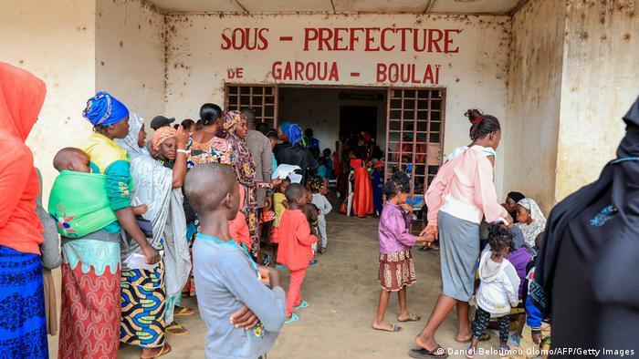 Au Cameroun, les réfugiés se font enregister à Garoua Boulaï, ville à 725 km à l'ouest de Bangui