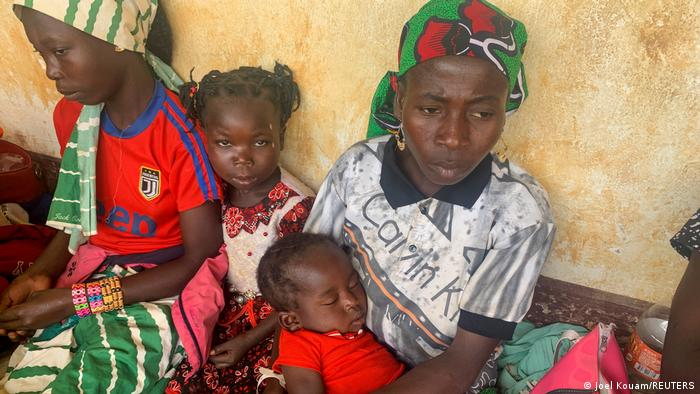 Des réfugiés centrafricains à Garoua Boulai, au Cameroun