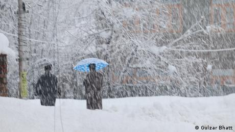 Indien I Schnee in Kashmir