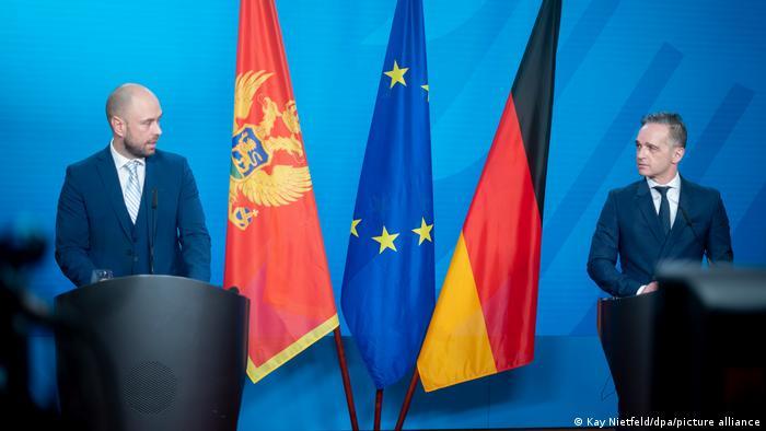 Deutschland Berlin |Đorđe Radulović, Montenegro & Heiko Maas, Außenminister