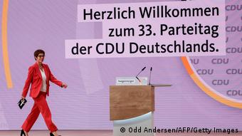 33. Parteitag der CDU 2021  Annegret Kramp-Karrenbauer, Parteivorsitzende