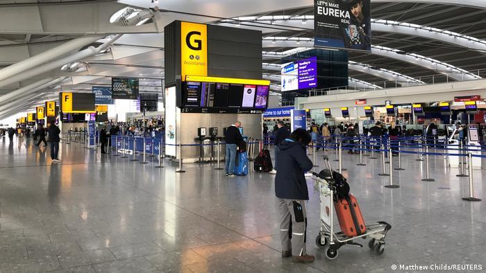 Großbritannien London | Flughafen Heathrow