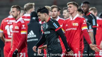 Fin de match houleuse entre l'Union Berlin et le Bayer Leverkusen