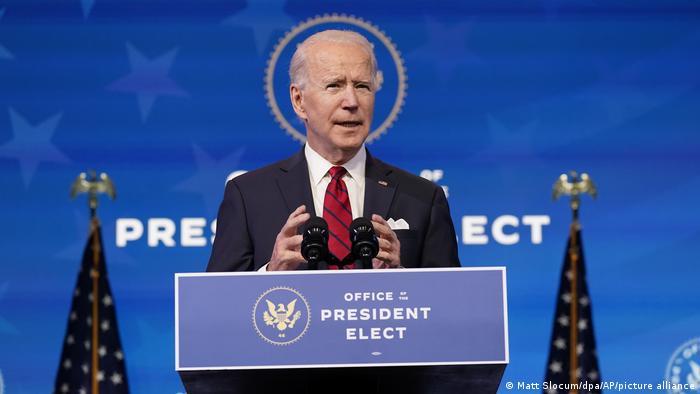 Joe Biden reverterá políticas trumpistas logo após posse | Notícias  internacionais e análises | DW | 17.01.2021