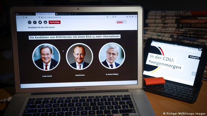 Digitaler Parteitag der CDU Livestream