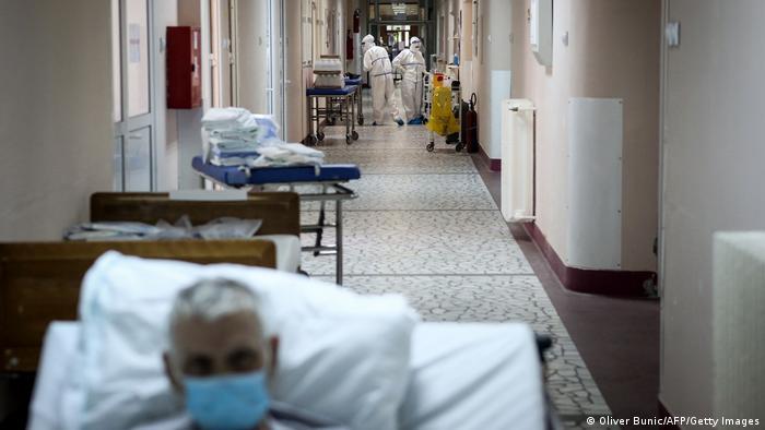 Symbolbild I Krankenhaus I Coronavirus I Serbien