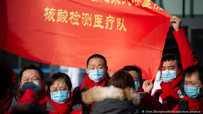 China I Medizinische Fachkräfte des Tiantan Krankenhauses in Peking