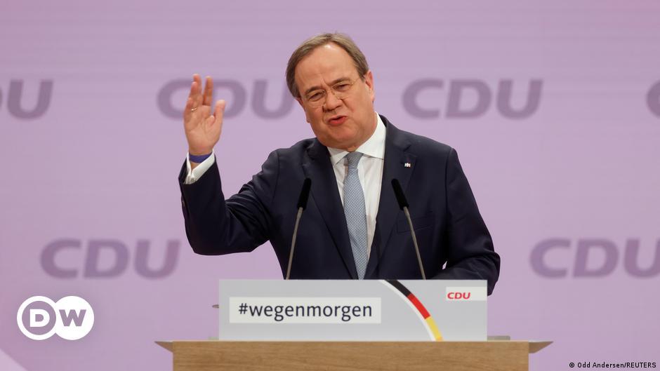CDU'nun yeni lideri Laschet