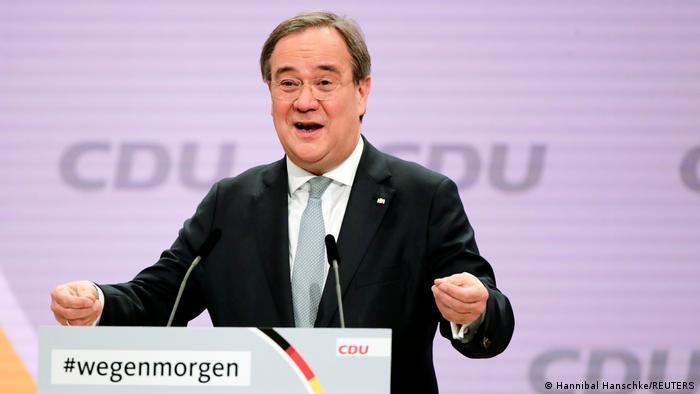 Armin Laschet, eleito novo presidente da CDU