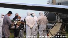 Brasilien Manaus Coronakrise Sauerstofflieferung Luftwaffe