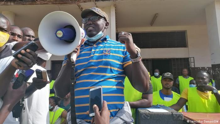 Julio Mendonca UNTG Generalsekretr in Guinea Bissau