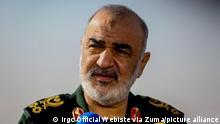 Iran Revolutionsgarden Führer Hossein Salami